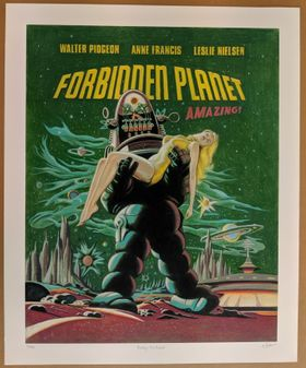 Robby the Robot Giclee Quality Limited Edition Print