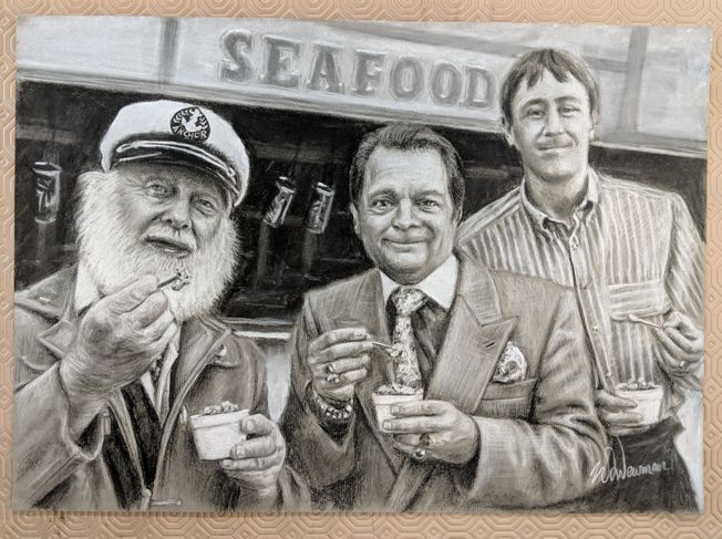 #7 Only Fools and Horses 'Jolly Boy's Outing' A3 quality Art Print