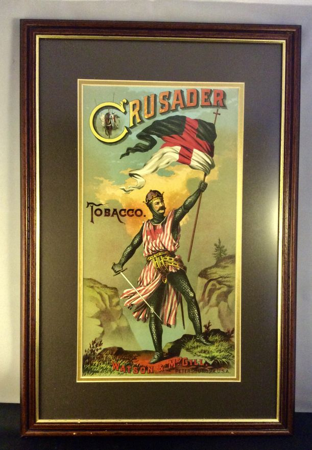 'Crusader' Tobacco . Early 20th century Tobacco label