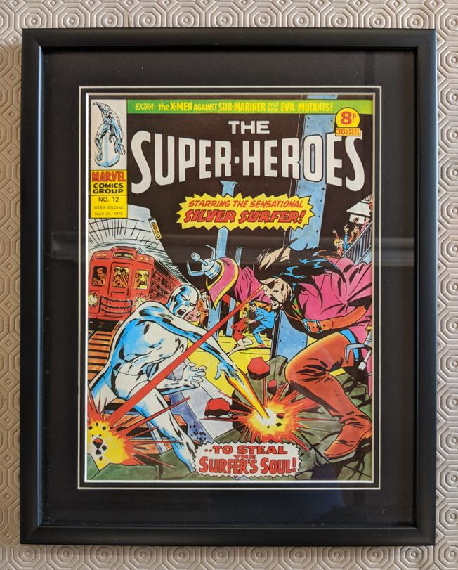 The Super Heroes No.12 May 24th 1975 superb !