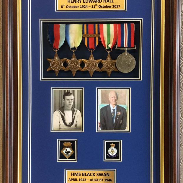 war hero poster medals