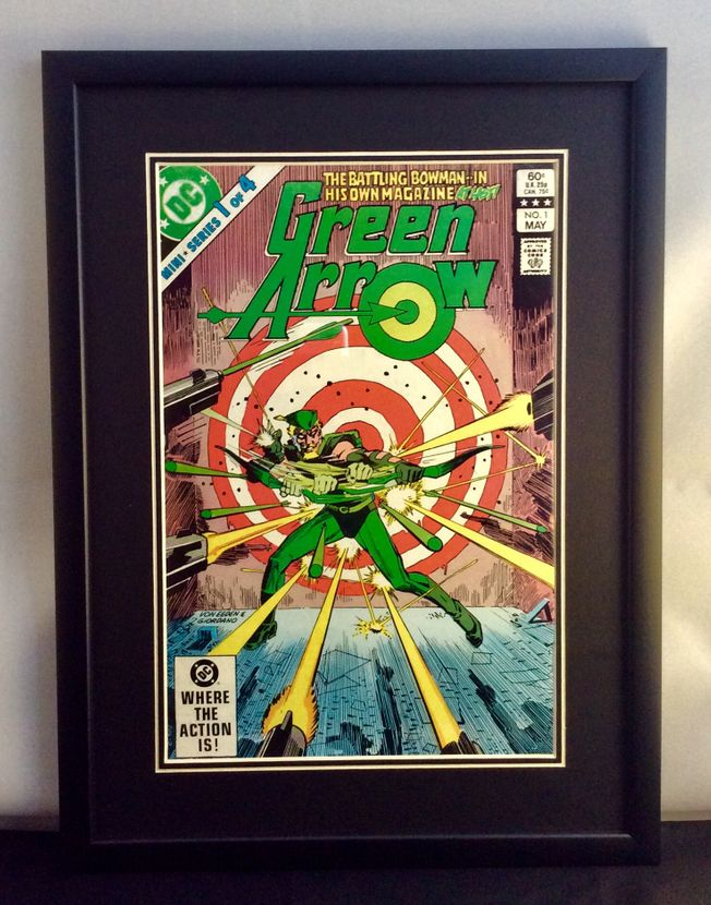 Green Arrow #1 May 1983