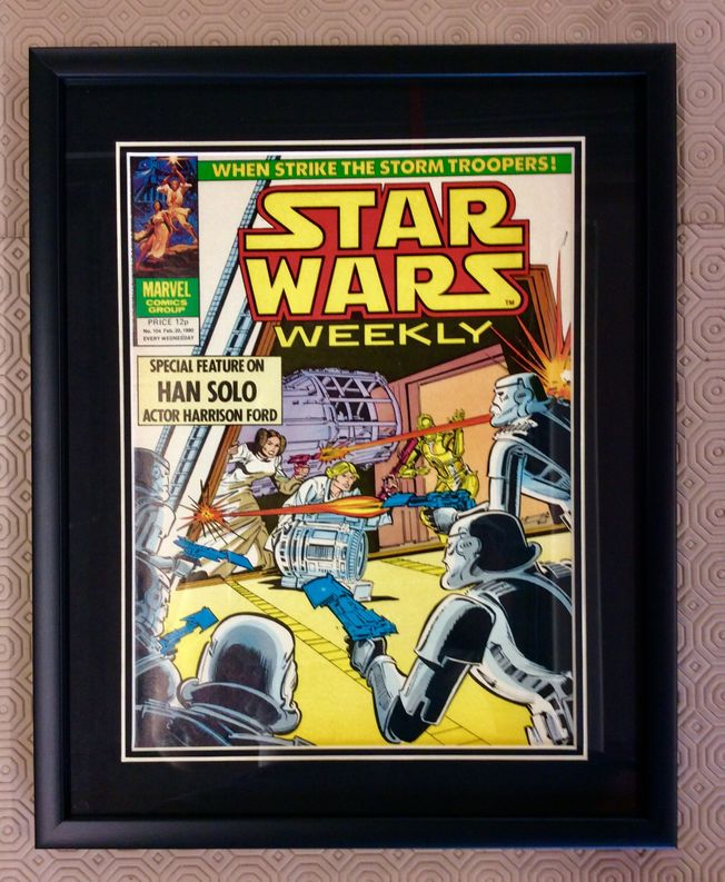 Star Wars weekly No.104 February 20th 1980
