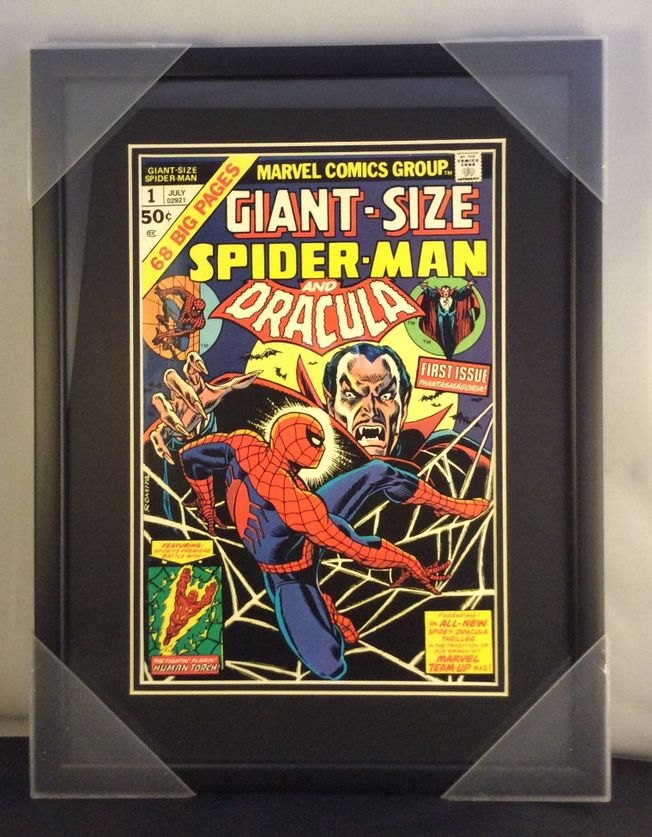 Giant size 'Spiderman and Dracula' #1 July 1974