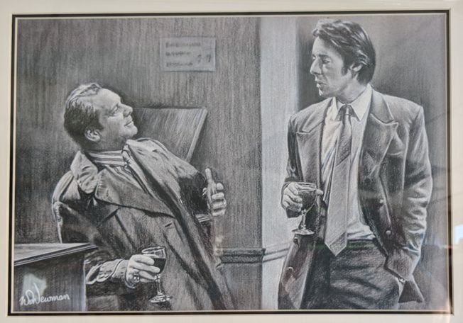 #3 Only Fools and Horses 'The Bar Scene' A3 quality Art Print