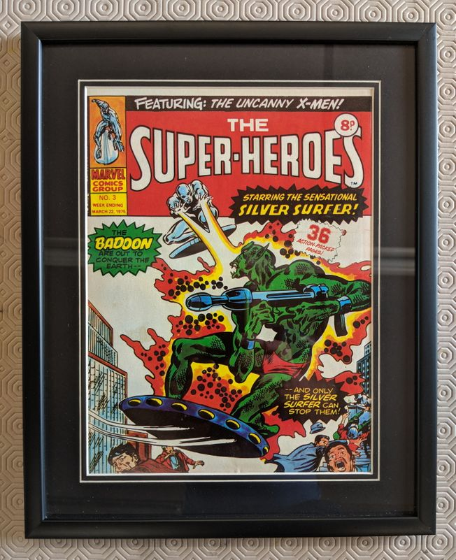 The Super Heroes No.3 March 22nd 1975