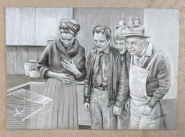 "#10. Only Fools & Horses "" The Canary"" A3 Quality Art Print"
