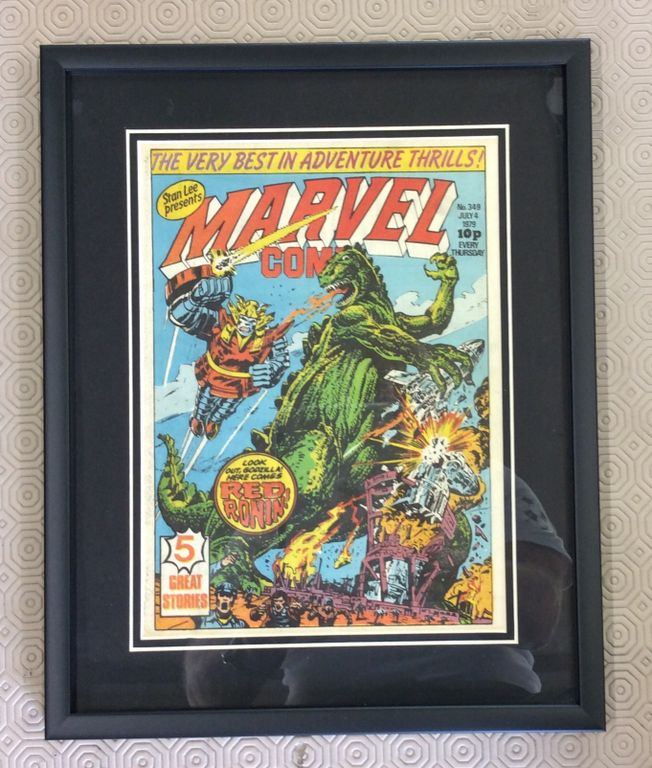 Stan Lee presents Marvel Comic No.349 July 4th 1979