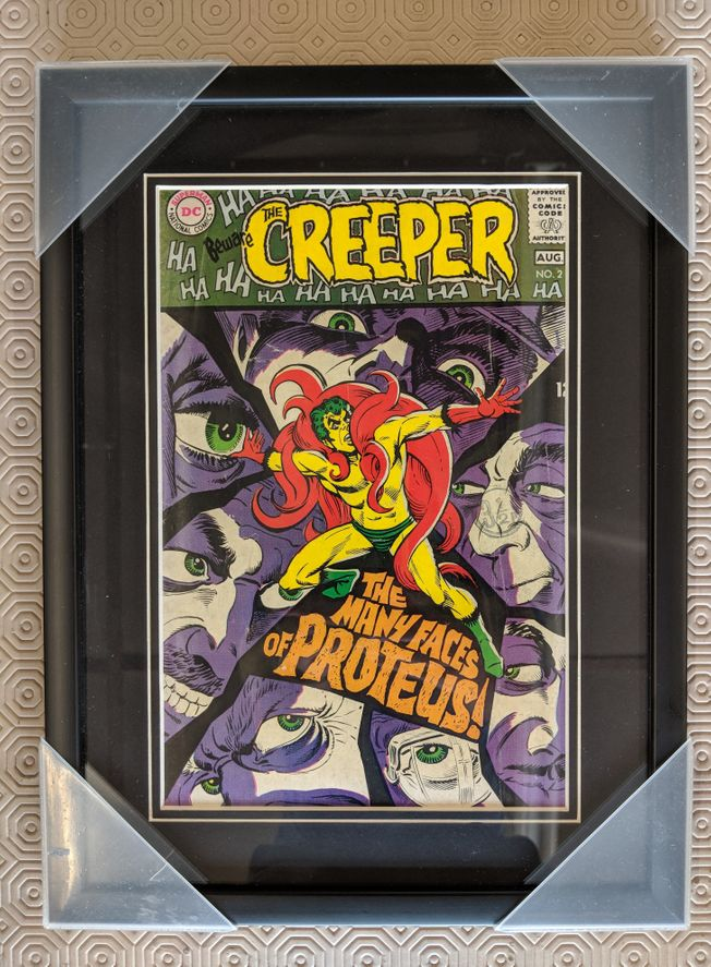 The Creeper No.2 August 1968 The Many Faces of Proteus