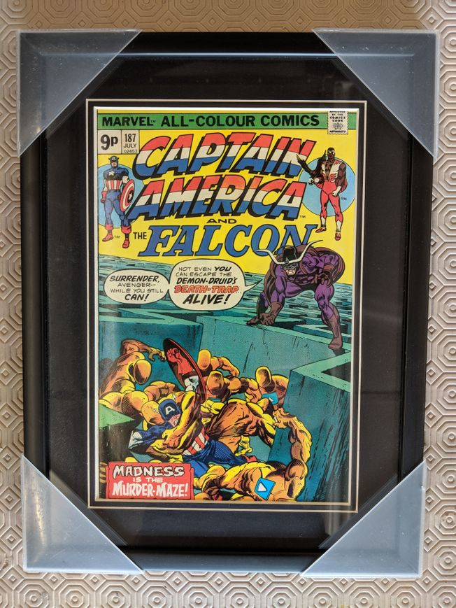 Captain America and The Falcon Vol 1 #187 July 1975
