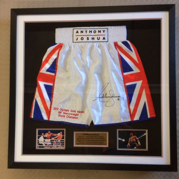 Anthony Joshua shorts poster