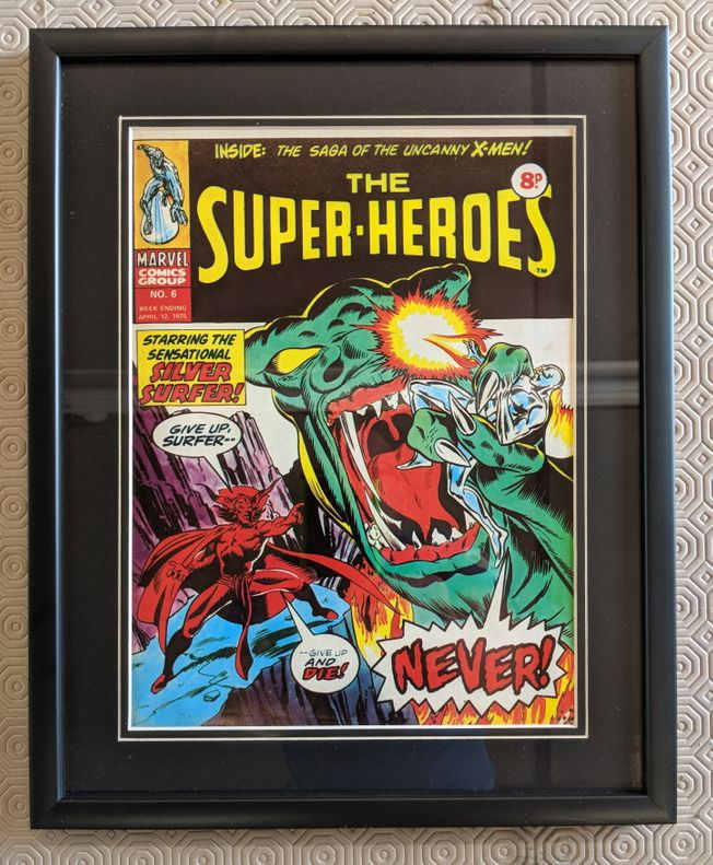 The Super Heroes No.6 April 12th 1975