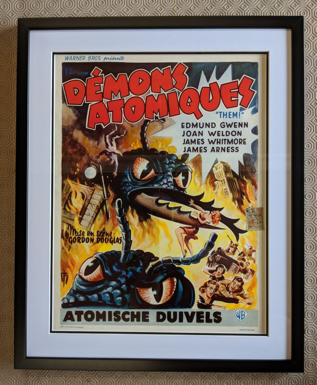 Demons Atomiques classic sci-fi 1954 poster