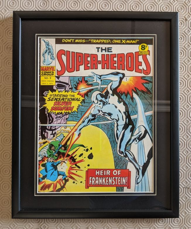 The Super Heroes No.9 May 3rd 1975 'Cool Artwork'